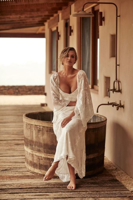 Loyola Wedding Dress with Sleeves from the Grace Loves Lace La Bamba 2019-2020 Bridal Collection