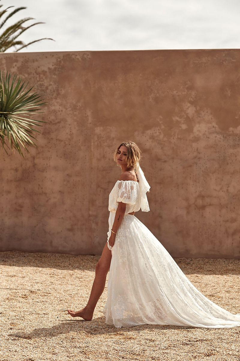 Loyola Set Two-Piece Wedding Dress from the Grace Loves Lace La Bamba 2019-2020 Bridal Collection
