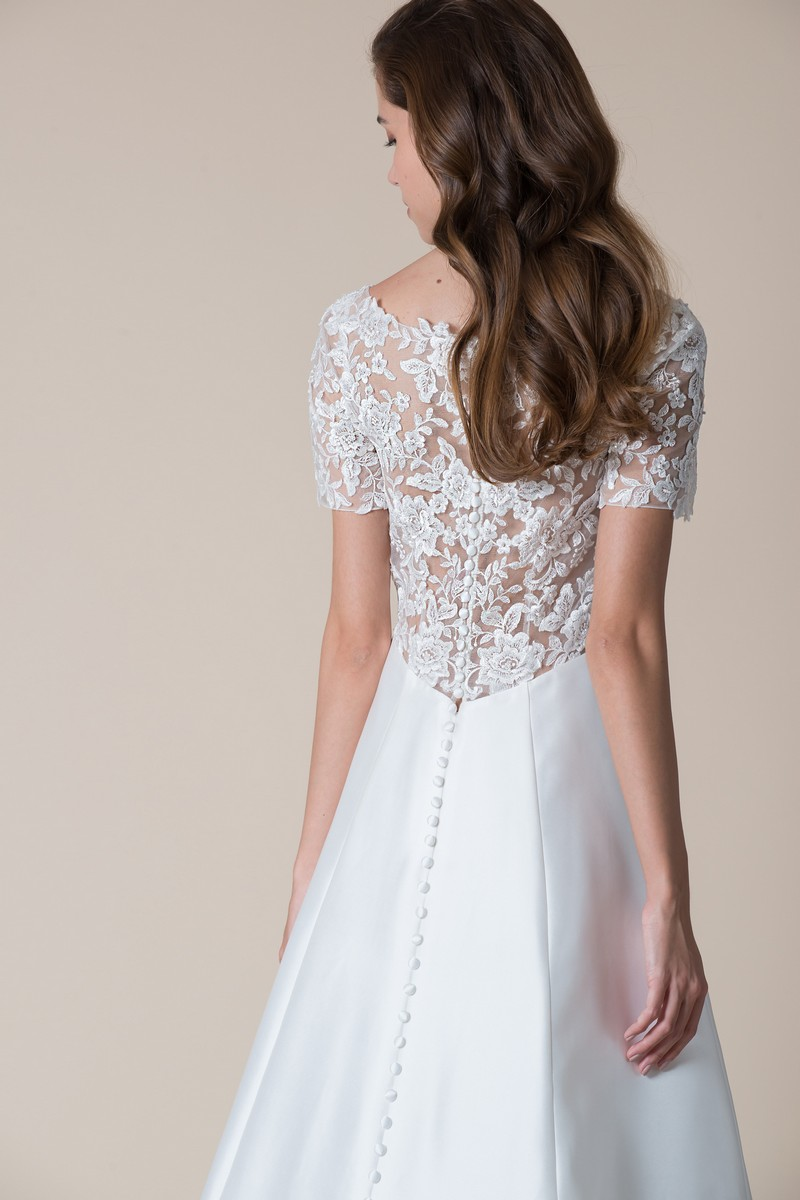 Back of Afton Wedding Dress from the MiaMia Flying Down to Rio 2020 Bridal Collection
