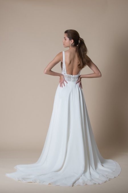 Back fo Astrid Wedding Dress from the MiaMia Flying Down to Rio 2020 Bridal Collection