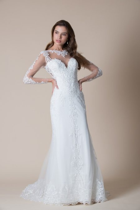 Celeste Wedding Dress from the MiaMia Flying Down to Rio 2020 Bridal Collection