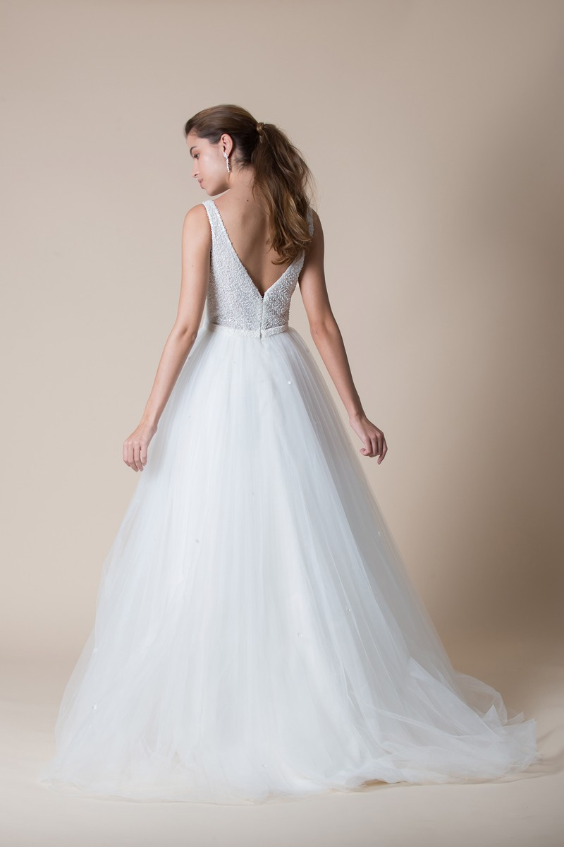 Back of Daryl Wedding Dress from the MiaMia Flying Down to Rio 2020 Bridal Collection