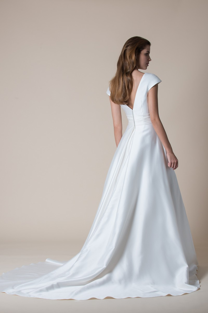 Back of Dominique Wedding Dress from the MiaMia Flying Down to Rio 2020 Bridal Collection