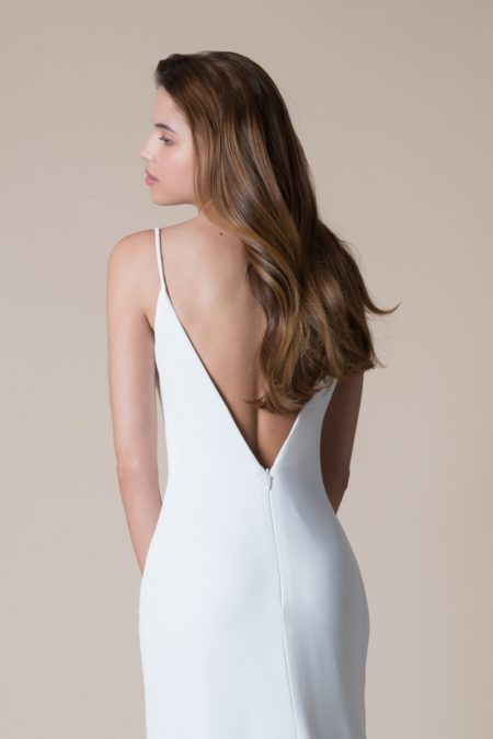 Back of Eliza Wedding Dress from the MiaMia Flying Down to Rio 2020 Bridal Collection