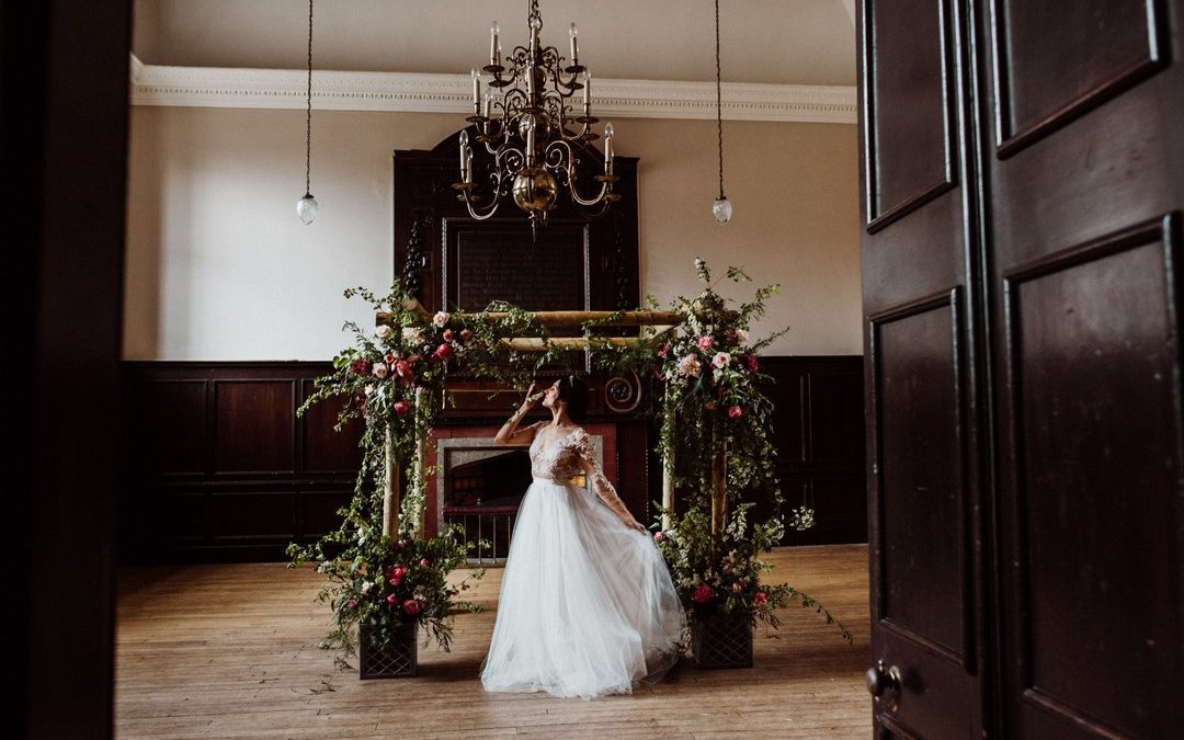 Botanical Inspired Wedding Styling at Fulham Palace