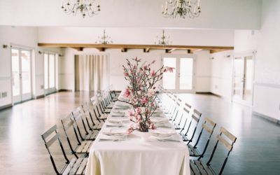 Pink and White Magnolia Spring Wedding Styling