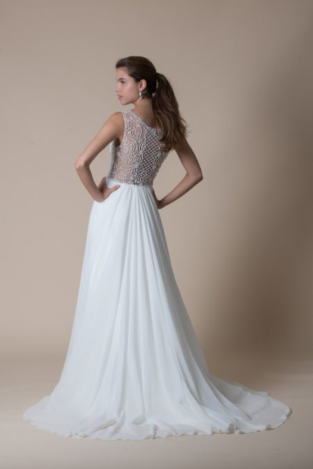 Back of Felicity Wedding Dress from the MiaMia Flying Down to Rio 2020 Bridal Collection