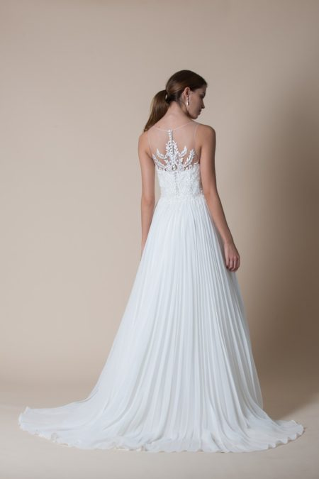 Back of Kira Wedding Dress from the MiaMia Flying Down to Rio 2020 Bridal Collection