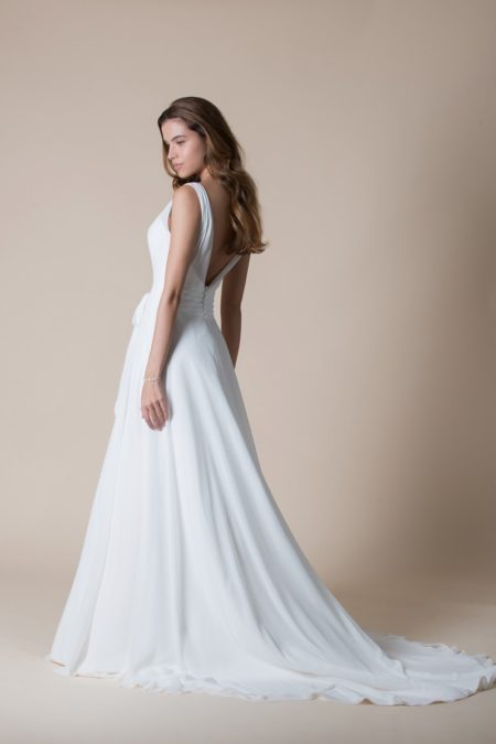 Back of Natalia Wedding Dress from the MiaMia Flying Down to Rio 2020 Bridal Collection