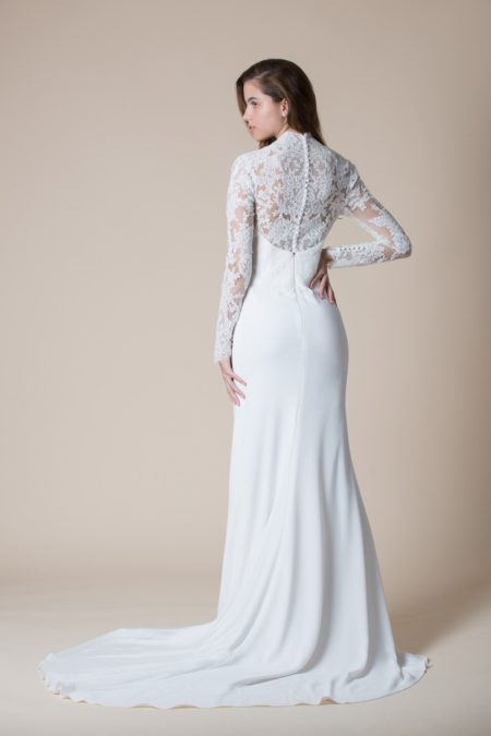 Back of Seville Wedding Dress from the MiaMia Flying Down to Rio 2020 Bridal Collection