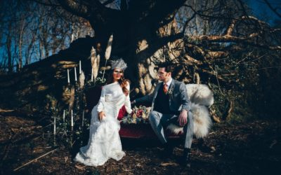 Rustic and Edgy Winter Wedding Styling at Trenderway