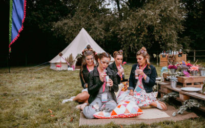 'Henfest' Colourful Festival Hen Party Styling Ideas