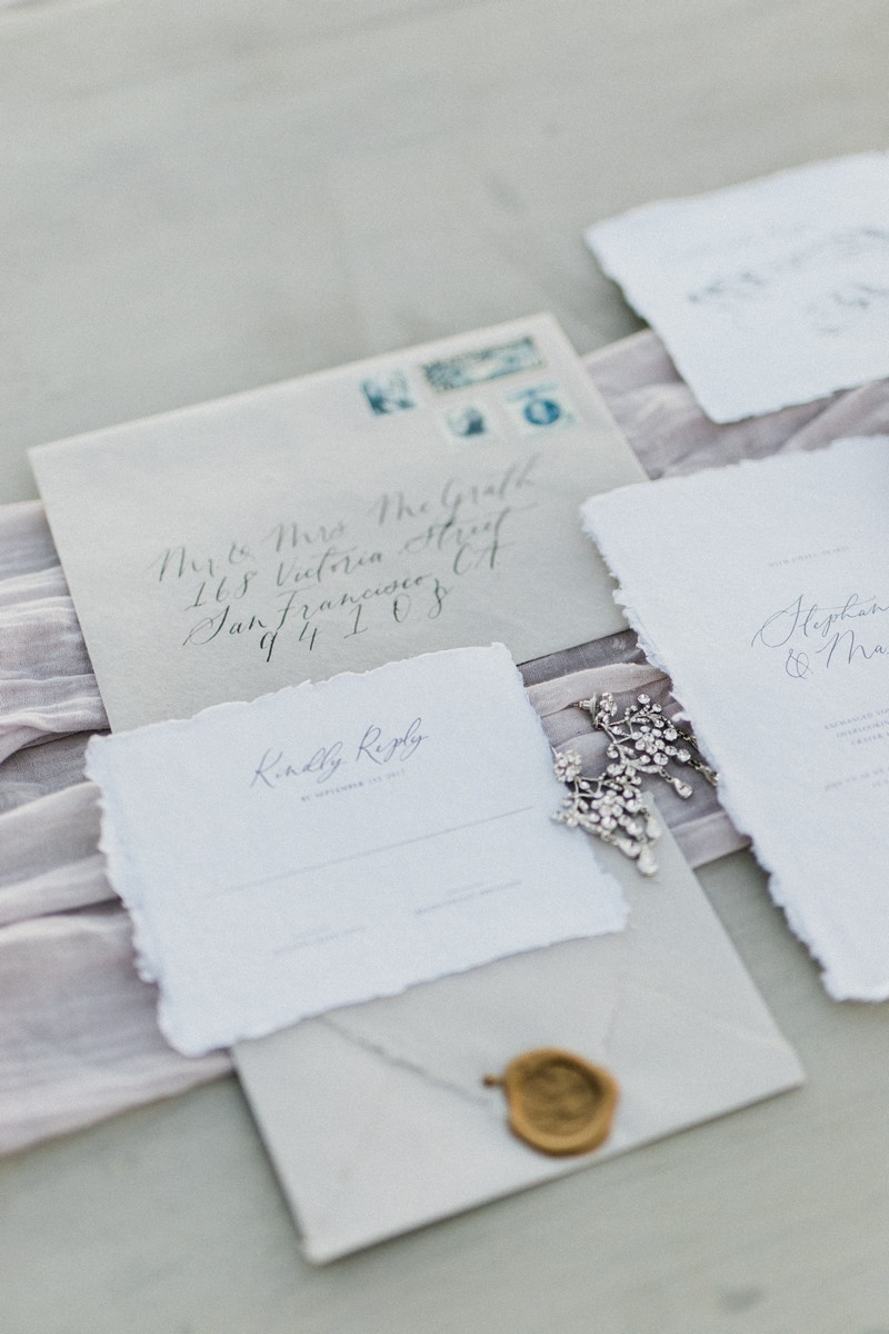 Elopement stationery