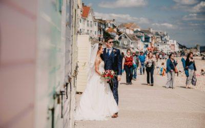An Eco-Friendly DIY Wedding By the Sea