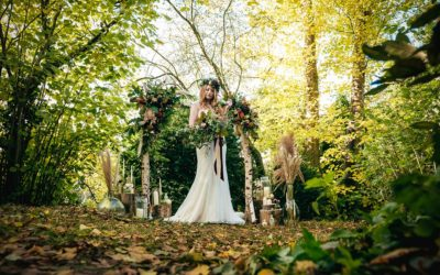 Secret Woodland Wedding Styling at The Moat House