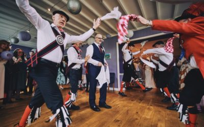 A Devonshire Fell Wedding with Morris Dancers
