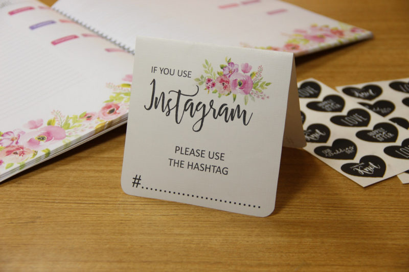 Instagram Hashtag Sign
