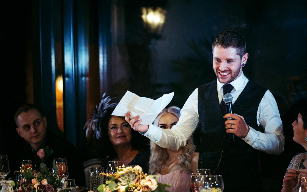 How to Overcome Wedding Speech Nerves