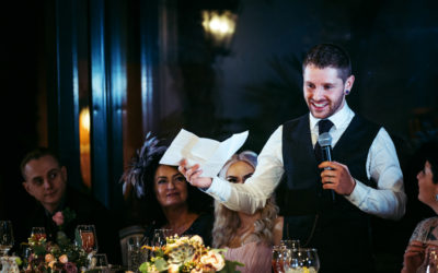 How to Overcome Wedding Speech Nerves