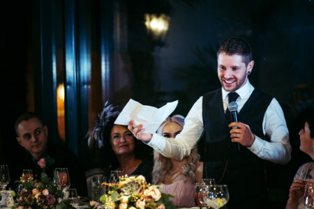Wedding Speech with Notes