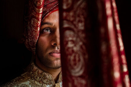 Face of Indian groom - Picture by Photography By Soven
