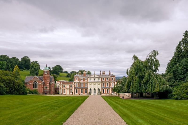 Driveway to Hawkstone Hall