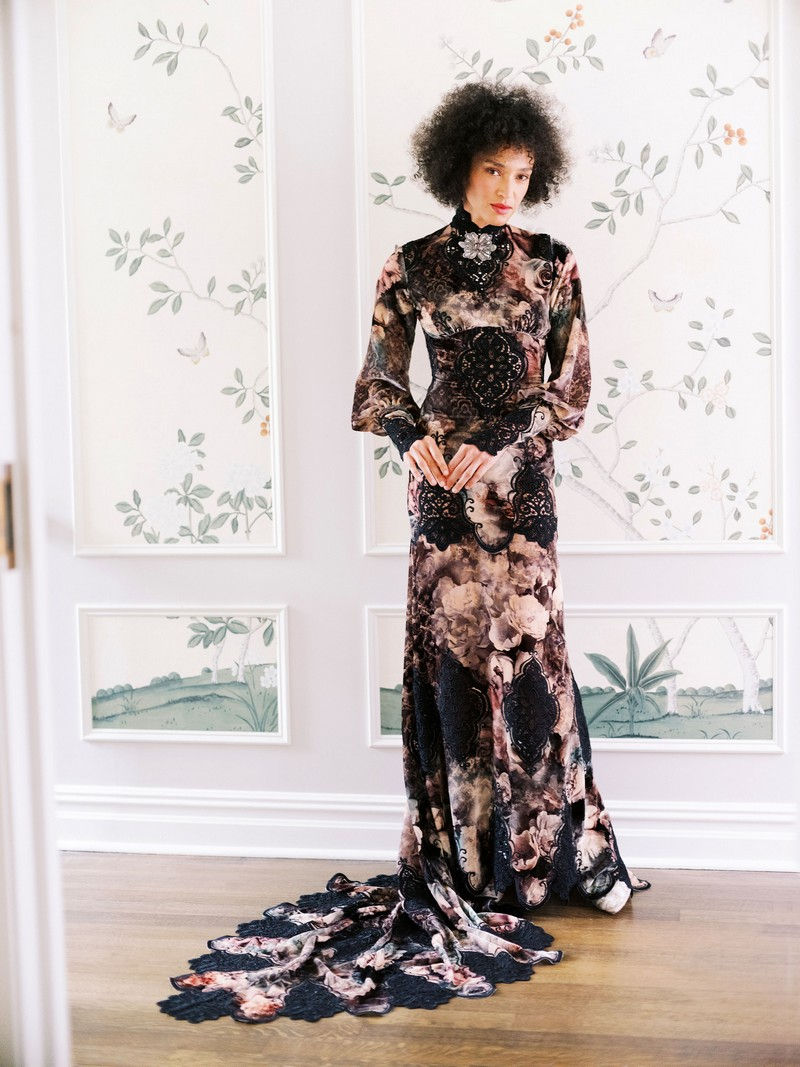 Phoenix wedding dress from the Claire Pettibone Evolution 2020 Bridal Collection