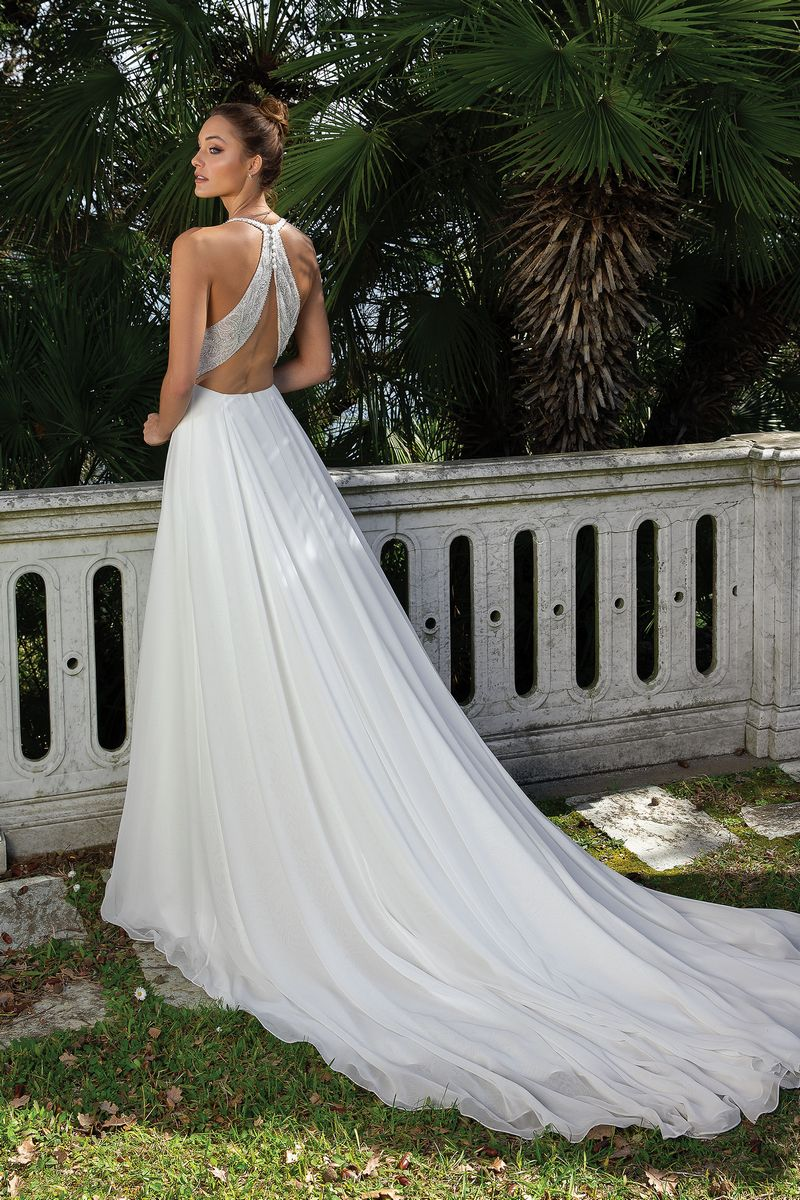 Back of Style 88105 Wedding Dress from the Justin Alexander Spring/Summer 2020 Bridal Collection
