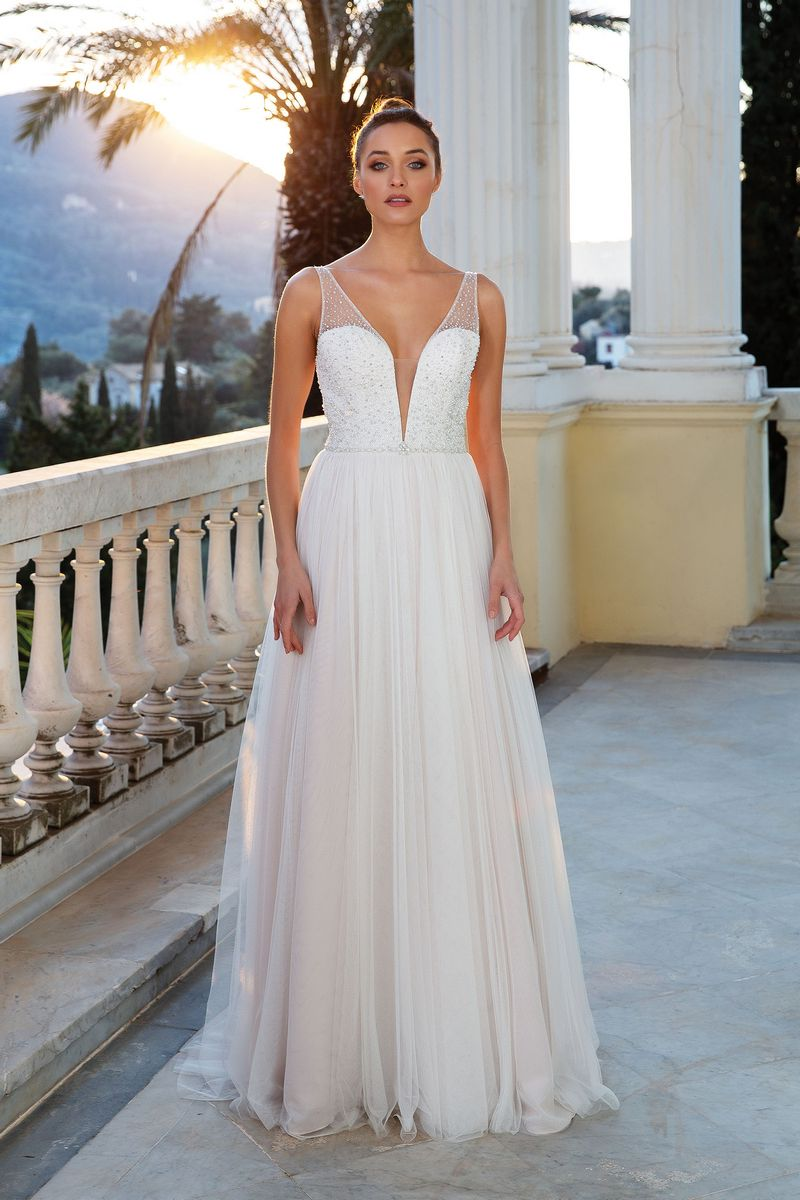 Style 88118 Wedding Dress from the Justin Alexander Spring/Summer 2020 Bridal Collection
