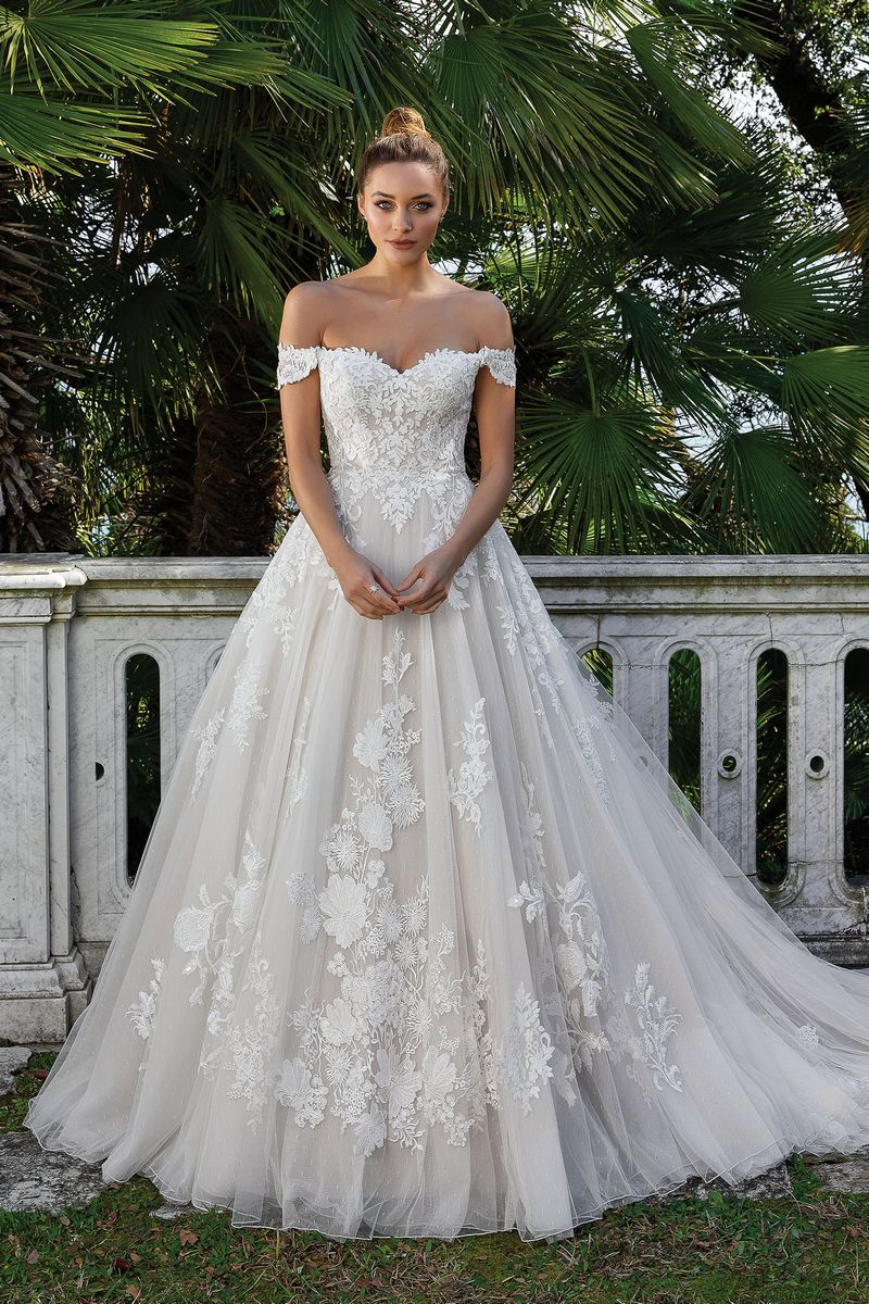 Style 88122 Wedding Dress from the Justin Alexander Spring/Summer 2020 Bridal Collection