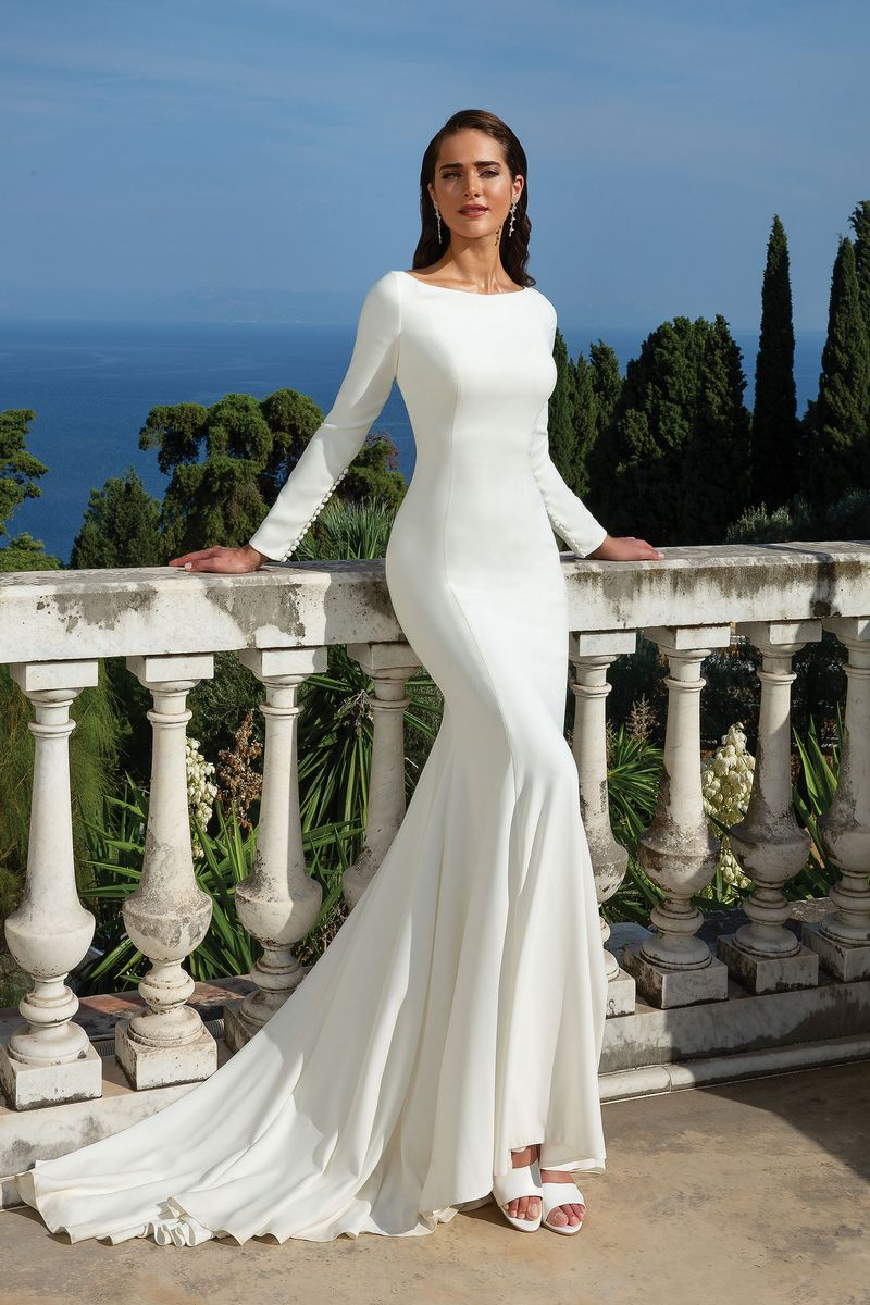 Style 88133 Wedding Dress from the Justin Alexander Spring/Summer 2020 Bridal Collection