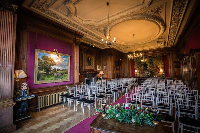 Wedding ceremony room in Thornton Manor