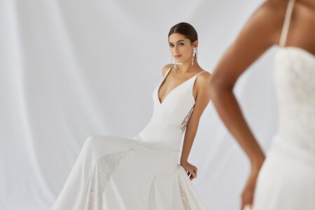 Wedding dress from the Alexandra Grecco Botanica 2021 bridal collection