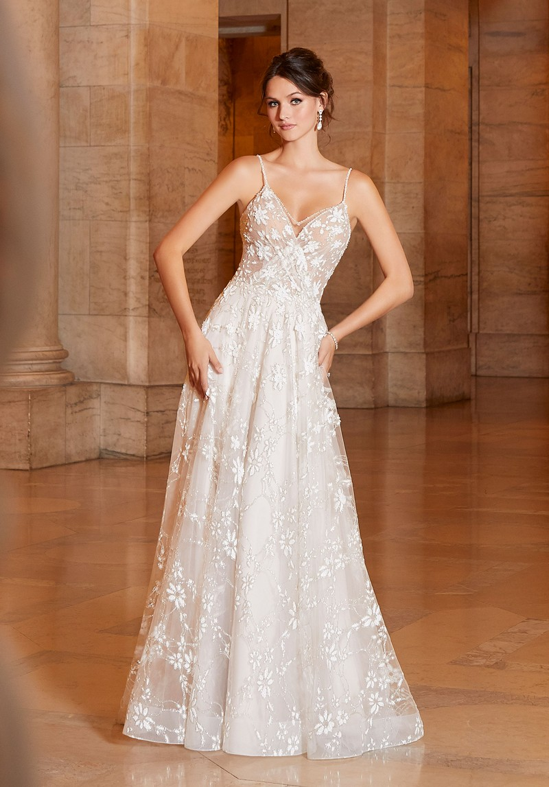 Amorita (Style 1048) wedding dress from the Madeline Gardner Signature Spring 2021 Bridal Collection