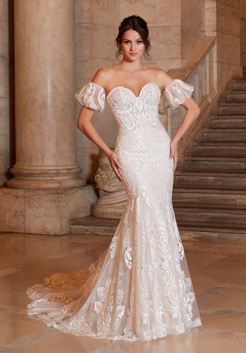 Antoinette (Style 1041) wedding dress from the Madeline Gardner Signature Spring 2021 Bridal Collection