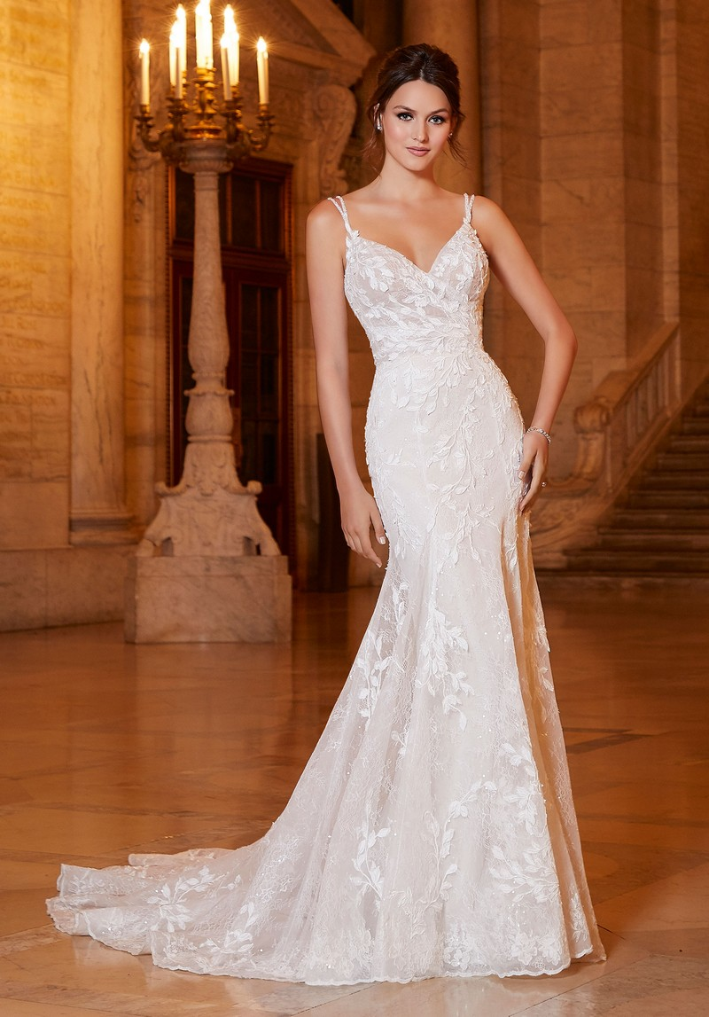 Arcadia (Style 1045) wedding dress from the Madeline Gardner Signature Spring 2021 Bridal Collection