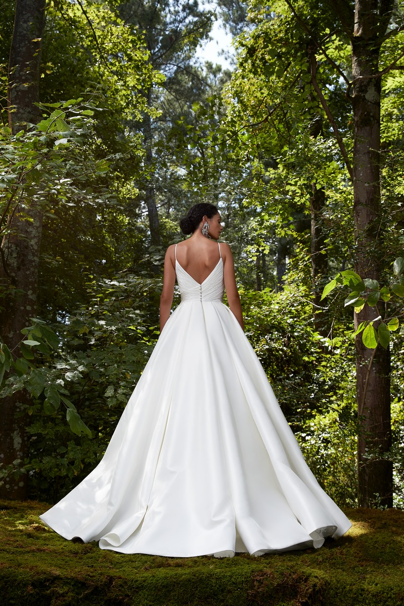 Back of Crazy for You wedding dress from the Anne Barge 2021 Bridal Collection