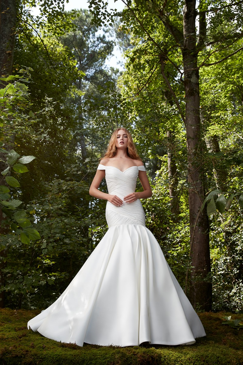 Love Story wedding dress from the Anne Barge 2021 Bridal Collection