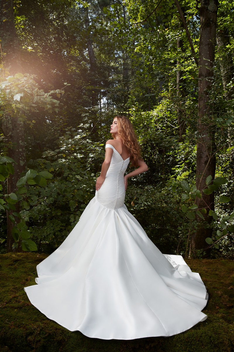 Back of Love Story wedding dress from the Anne Barge 2021 Bridal Collection