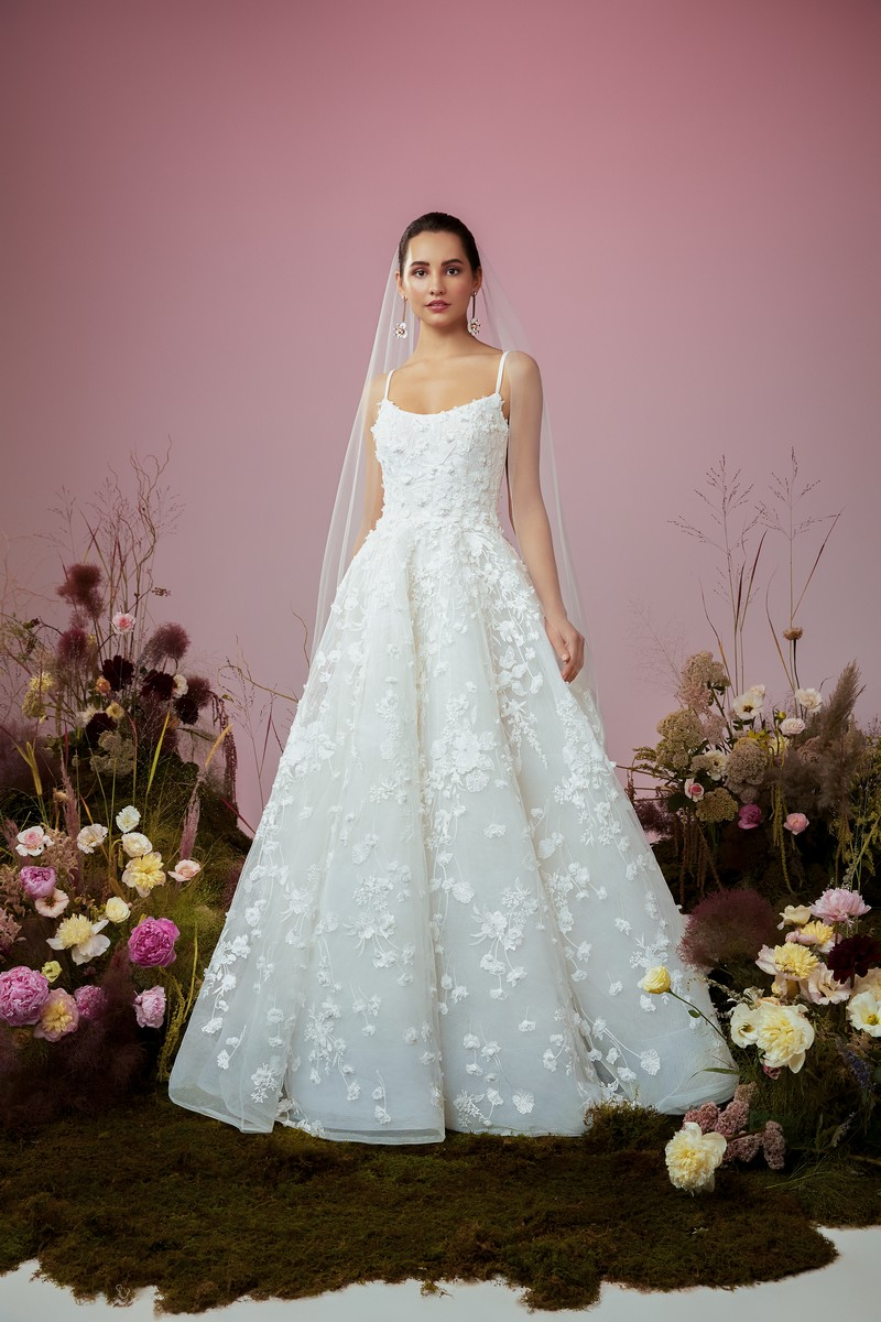 Poetic Light wedding dress from the Anne Barge Blue Willow Bride 2021 Bridal Collection