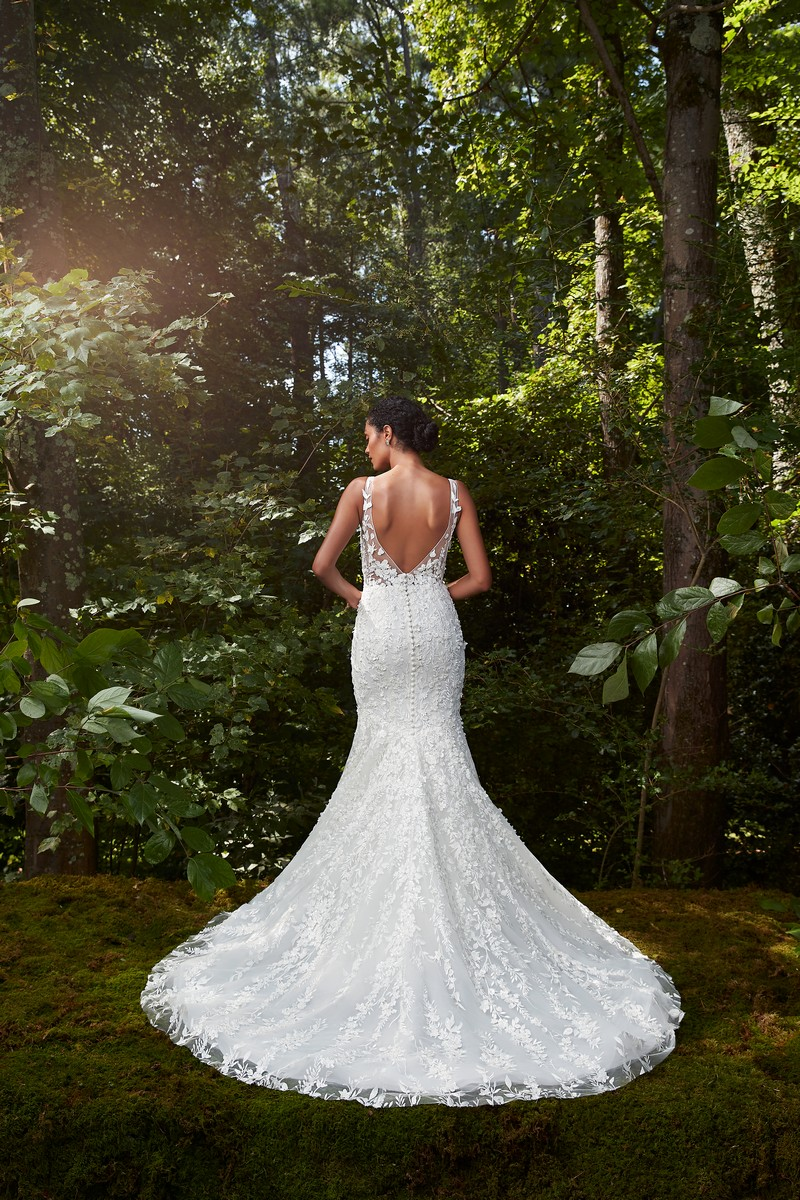 Back of Spell Bound wedding dress from the Anne Barge 2021 Bridal Collection
