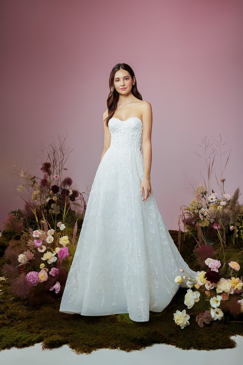 Star Crossed wedding dress from the Anne Barge Blue Willow Bride 2021 Bridal Collection