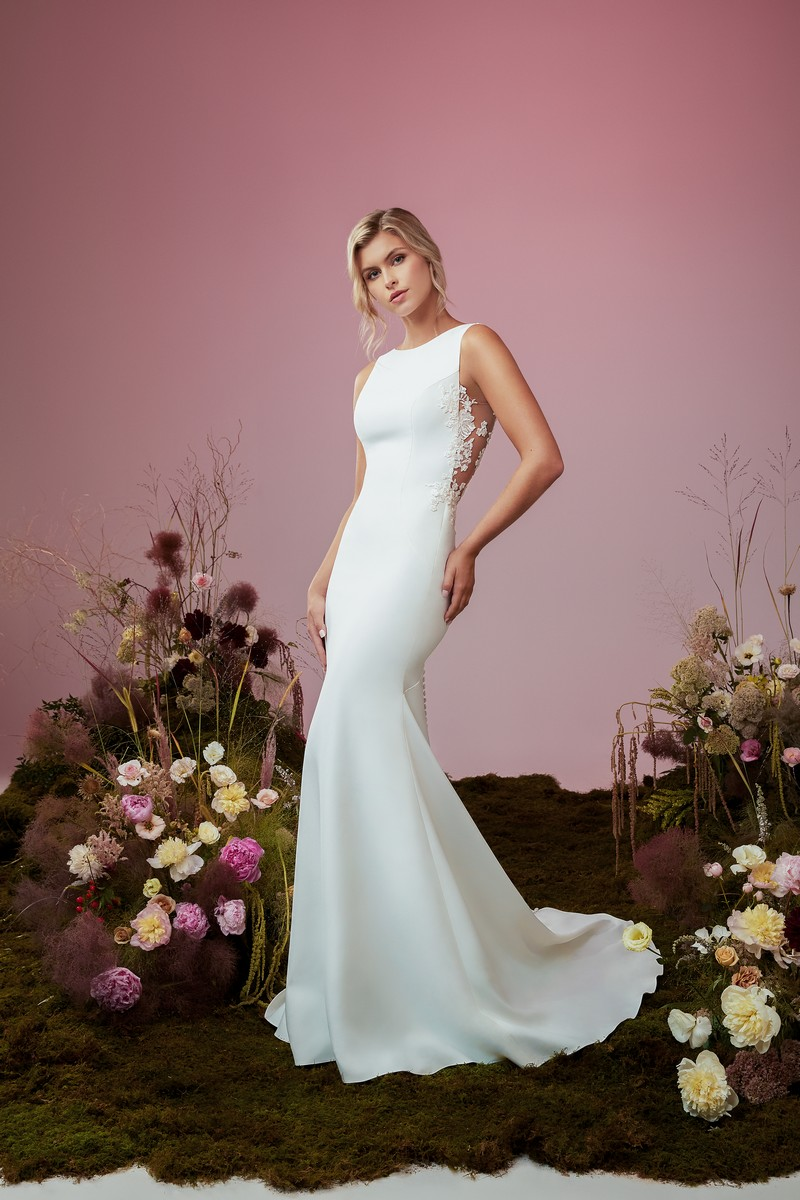 Wind Dancer wedding dress from the Anne Barge Blue Willow Bride 2021 Bridal Collection