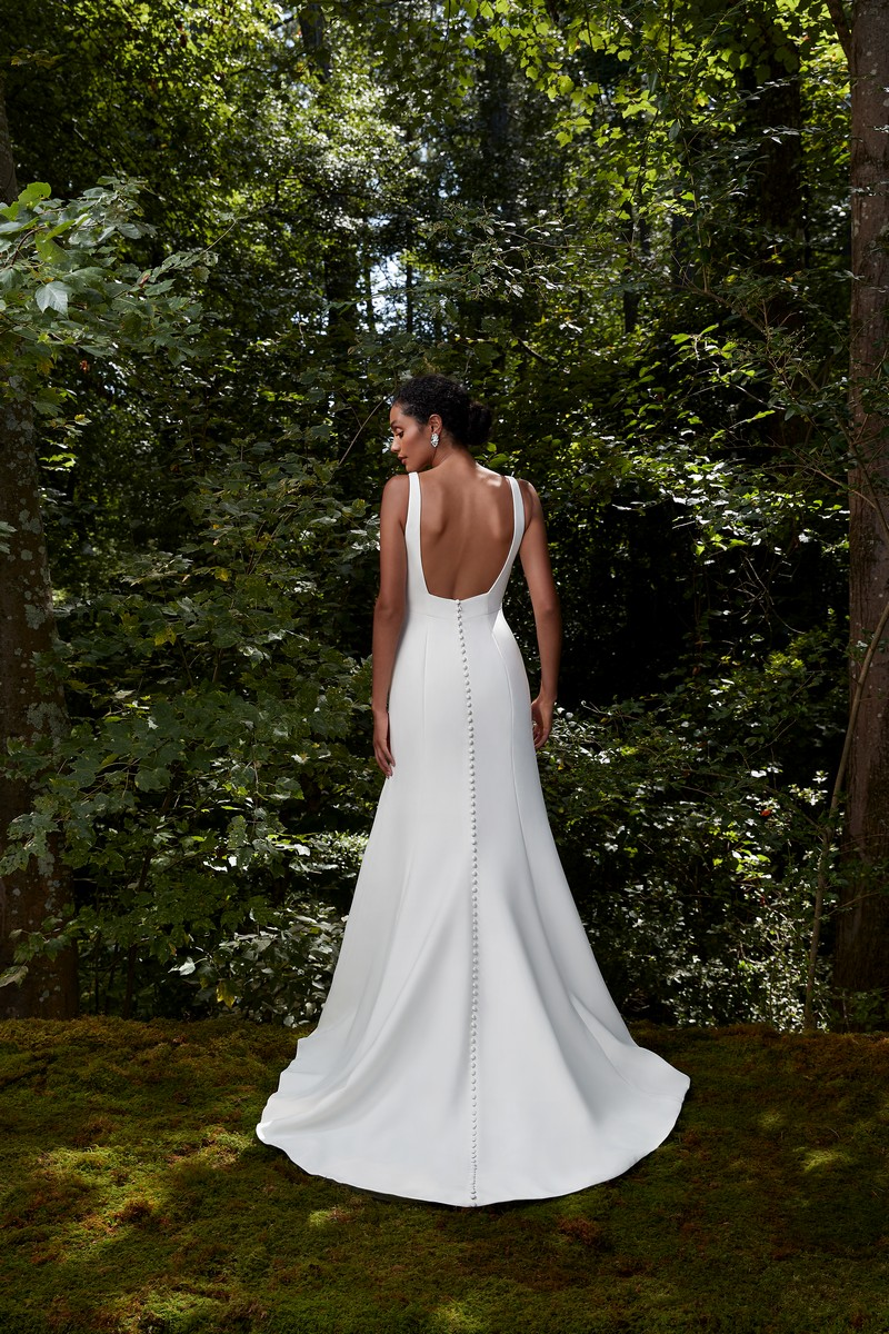Back of Wish wedding dress from the Anne Barge 2021 Bridal Collection