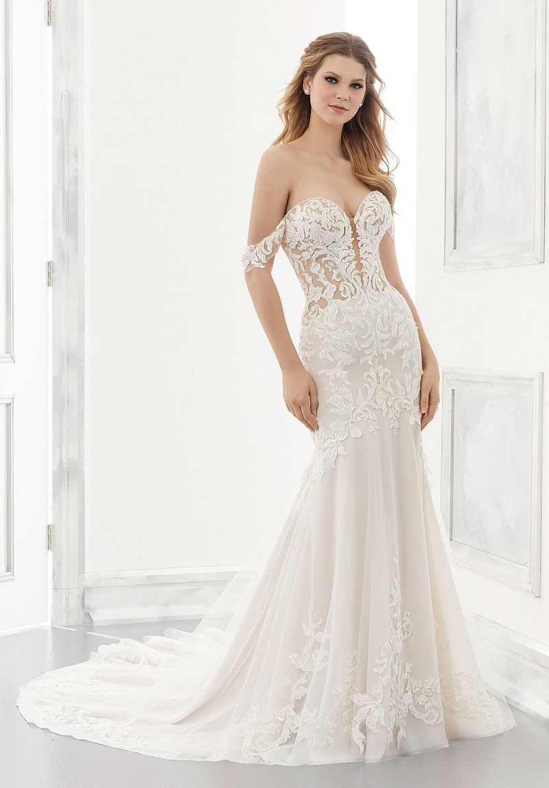 Adaline (Style 2190) wedding dress from the Morilee Modern Romance Spring 2021 Bridal Collection