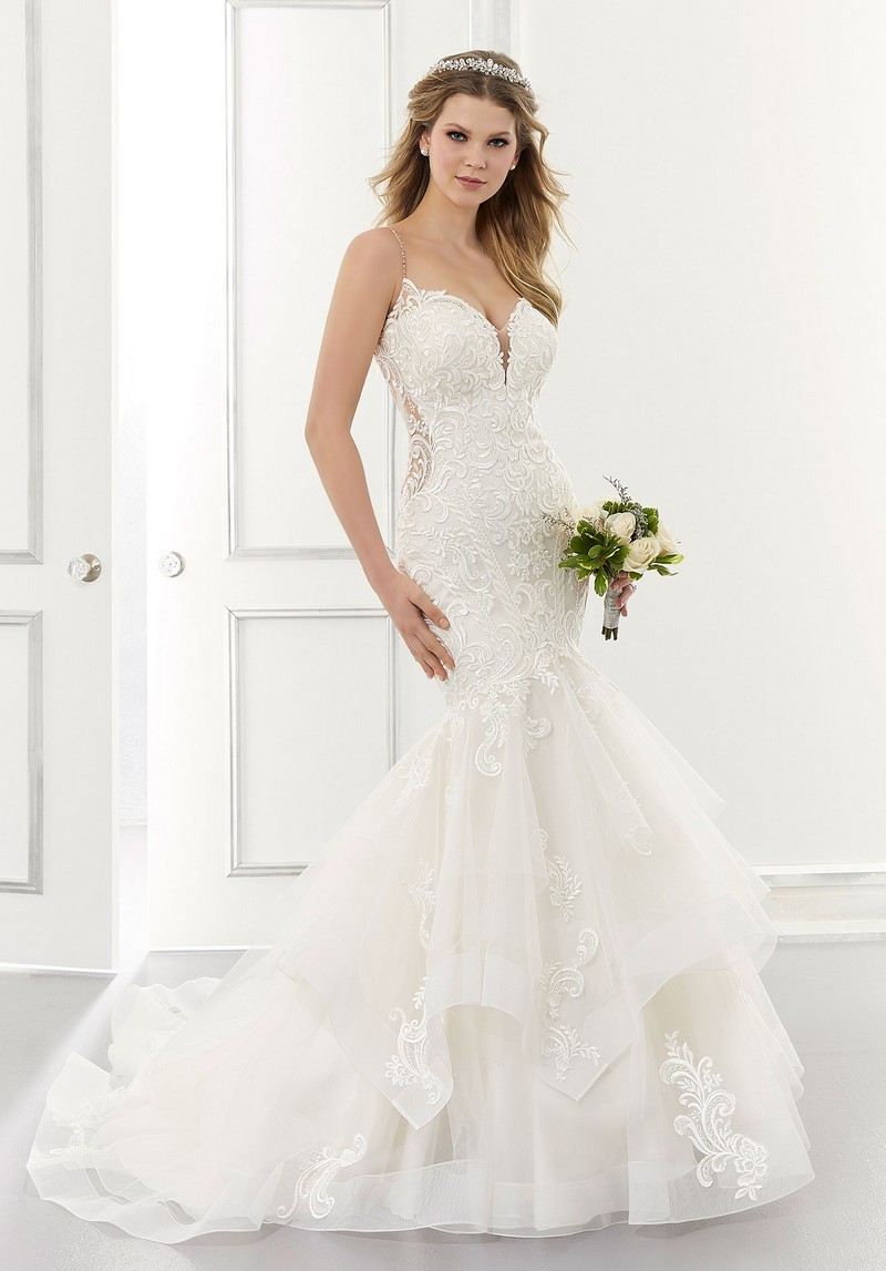 Alexis (Style 2182) wedding dress from the Morilee Modern Romance Spring 2021 Bridal Collection