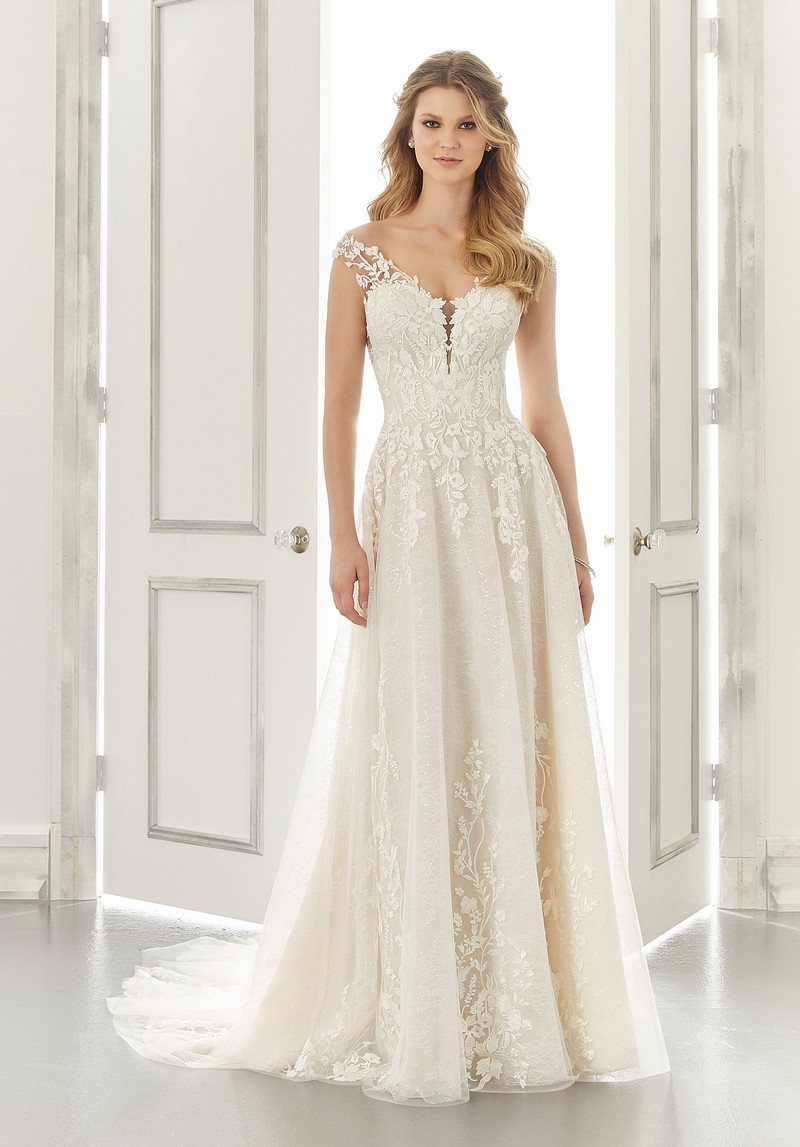 Alice (Style 2191) wedding dress from the Morilee Modern Romance Spring 2021 Bridal Collection
