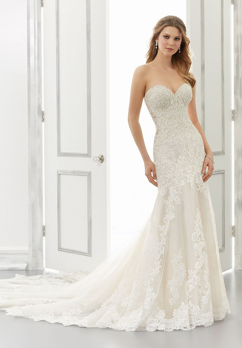 Allison (Style 2188) wedding dress from the Morilee Modern Romance Spring 2021 Bridal Collection
