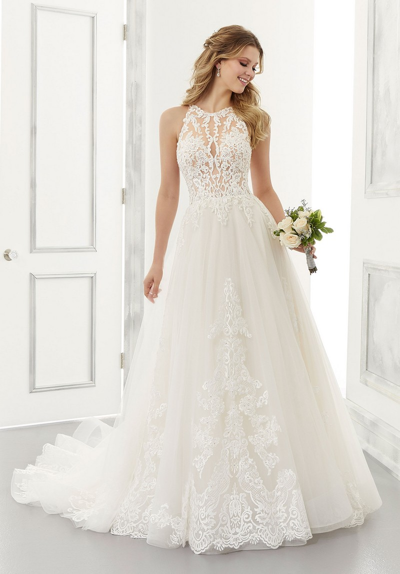 Analiese (Style 2187) wedding dress from the Morilee Modern Romance Spring 2021 Bridal Collection