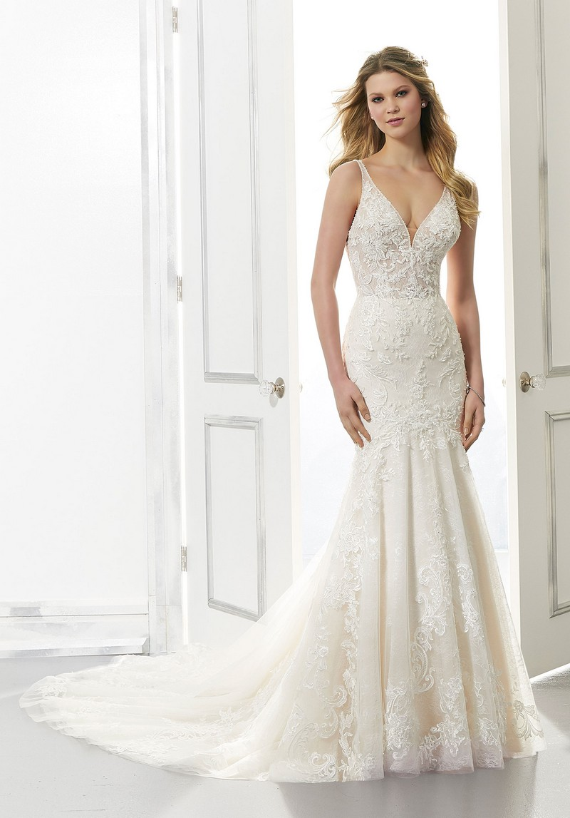 Aria (Style 2172) wedding dress from the Morilee Modern Romance Spring 2021 Bridal Collection